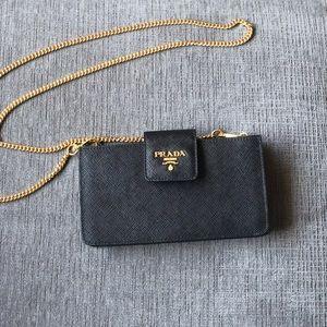 Prada Saffiano Wallet Purse